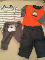 Carter's onesie/pant sets...size 6 months in Naperville, Illinois