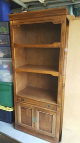 Wood Bookcase in Travis AFB, California