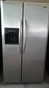 Stainless refrigerator in Houston, Texas