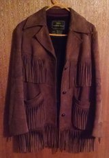Sears Western Wear, 100% Leather, Brown Fringe Jacket, Size M(12-14) in Lawton, Oklahoma