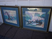 Pair of Chinese Art Prints in Glendale Heights, Illinois