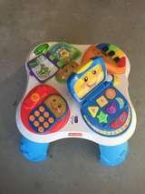 Fisher price activity table in Fort Drum, New York