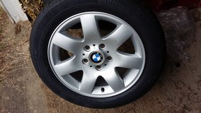 Bmw factory tires and rims (5 tires) in Fort Leonard Wood, Missouri