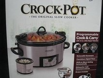 Crock Pot 6 Quart Stainless Steel Slow Cooker with 16oz Little Dipper Warmer in Phoenix, Arizona