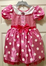 ~*Beautiful - Authentic - Disney Store Minnie Mouse Dress - Costume - Size 5/6*~ in Naperville, Illinois