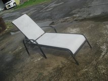 patio lomg chair in good condition in Okinawa, Japan