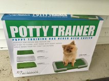 """Puppy Potty Trainer (Green) Indoor Grass Training Patch - 3 Layers - 18"""" x 13"""" in Lockport, Illinois"""