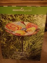 Glass Birdbath new in Joliet, Illinois