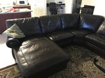 Leather Sectional in Davis-Monthan AFB, Arizona