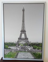 Framed Classic Photo of the Eiffel Tower in Wiesbaden, GE