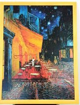 Framed Cafe Terrace at Night by Impressionist Artist Vincent Van Gogh. in Wiesbaden, GE