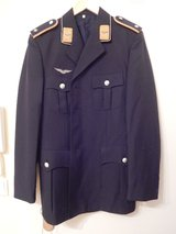 German Uniform Jacket, Blue, Size 41 in Stuttgart, GE