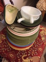 dishes in Yucca Valley, California