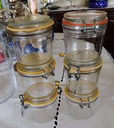 6 Clip Top Canning Jars in St. Louis, Missouri