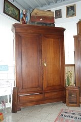 gorgeous oak armoire from the early 1900's in Wiesbaden, GE