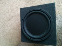 Boston 10 inch competition subwoofer & Boss R1100M Subwoofer in St. Louis, Missouri