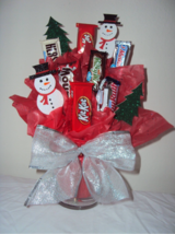 CHOCOLATE candy basket bouquet arrangement-Christmas! in Fort Bliss, Texas