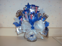 CHOCOLATE candy basket bouquet Arrangement-DALLAS COWBOYS in Fort Bliss, Texas