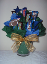 CHOCOLATE candy basket bouquet arrangement- GREEN BAY in Fort Bliss, Texas