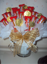 CHOCOLATE candy basket bouquet arrangement - THANK YOU GIFT in Fort Bliss, Texas