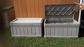 SUNCAST RECTANGLE STORAGE BINS   REDUCED~!!!   WAS  $75.00 in San Antonio, Texas