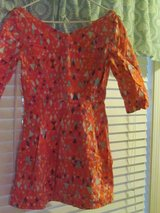 Pink Print Dress Juniors Size 6 in Naperville, Illinois
