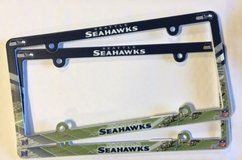 Seattle Seahawks Vehicle  License Plate Frames *** NEW *** in Tacoma, Washington