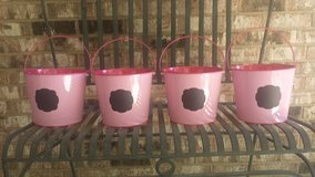 Upcycled Buckets with Chalkboard Label (4) in Westmont, Illinois