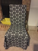 4 Chairs with BRAND NEW Slipcovers!!! in Virginia Beach, Virginia