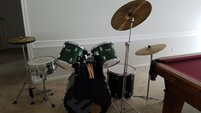 Enforcer 5pc drum set  (Green) in Houston, Texas