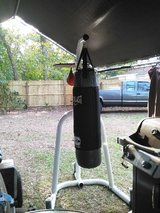 Everlast Punching Bag & Stand in Beaufort, South Carolina