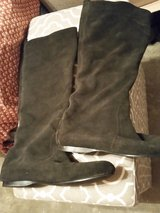 Two slouch half calf flat leather boots sz 8m in Fort Bragg, North Carolina