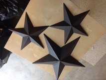 3 Rustic Stars-wall hanging in Fort Lewis, Washington