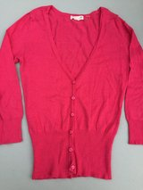Red Cardigan-Small in Joliet, Illinois