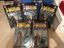Witchblade Action Figure Lot plus the variant in Lakenheath, UK