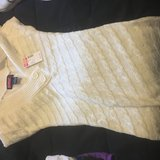 Beige sweater dress new with tags in Fort Leonard Wood, Missouri