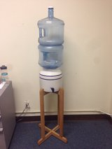 Water Dispenser w/two 3 gallons and stand in Lakenheath, UK