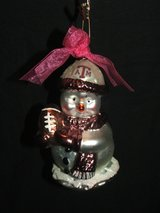 Texas A&M Aggies Football Christmas Ornament in Batavia, Illinois