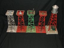 Vintage Lionel Train Beacon & Water Towers in Wheaton, Illinois
