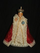 Vintage Infant of Prague Lighted Jesus statue Religious Figurine in Glendale Heights, Illinois