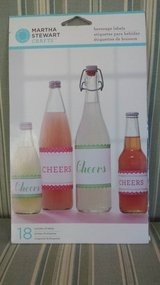 NEW - Martha Stewart Beverage Labels in Naperville, Illinois