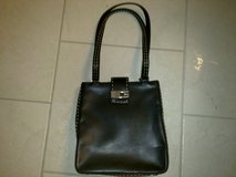 New - Black Leather GUESS Handbag/Purse 9/9.5W x 10H x 3Thick in Ramstein, Germany