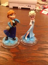 Elsa and Anna - Disney Infinity character set - Frozen in Okinawa, Japan