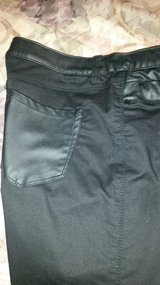 Black jeans w/leather pockets in Conroe, Texas