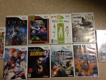 10 Wii Games, Super Mario Galaxy, Wii Fit Plus +8 more in Okinawa, Japan