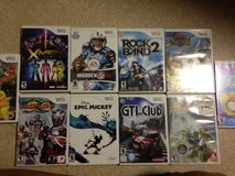 10 Wii Games, X-Men Destiny, Madden, Rock Band 2 in Okinawa, Japan