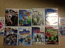 10 Wii Games (Call of Duty, UFC Trainer, Super Mario Galaxy) in Okinawa, Japan