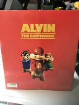 Childrens Alvin in the Chipmunks blow up chair never been used still in box in Houston, Texas