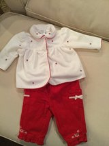 First Moments pant set...size 3-6M in Shorewood, Illinois