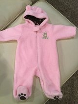 Carter's bear bunting...size 6 months in Aurora, Illinois